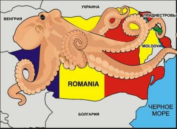 caricatura caracatita romaneasca