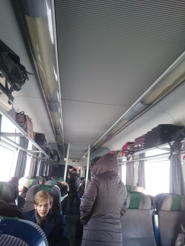 tren Piatra Neamt - Bucuresti