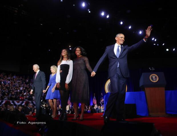 Barack Obama, discurs de adio - agerpres
