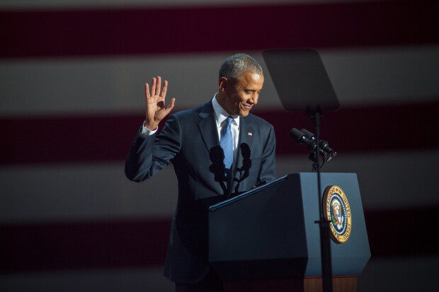 Barack Obama, discurs de adio
