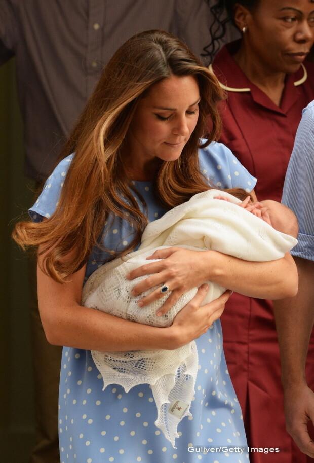 bebelusul, copilul lui Kate Middleton, la externarea din spital - 4