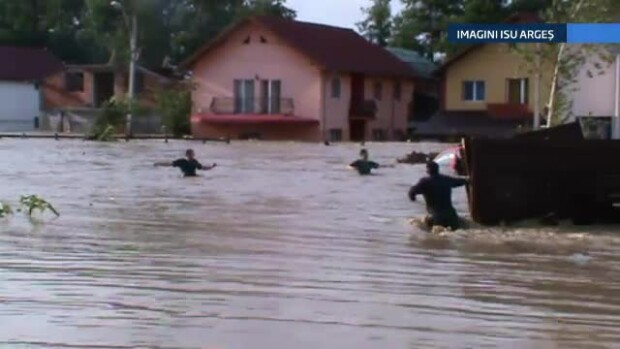 Inundatii in Arges