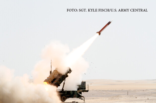 lansare rachete Patriot