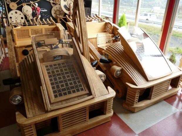 masina, lemn