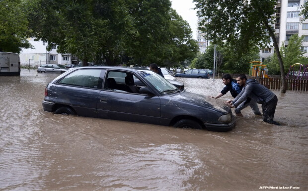 Inundatii in Bulgaria