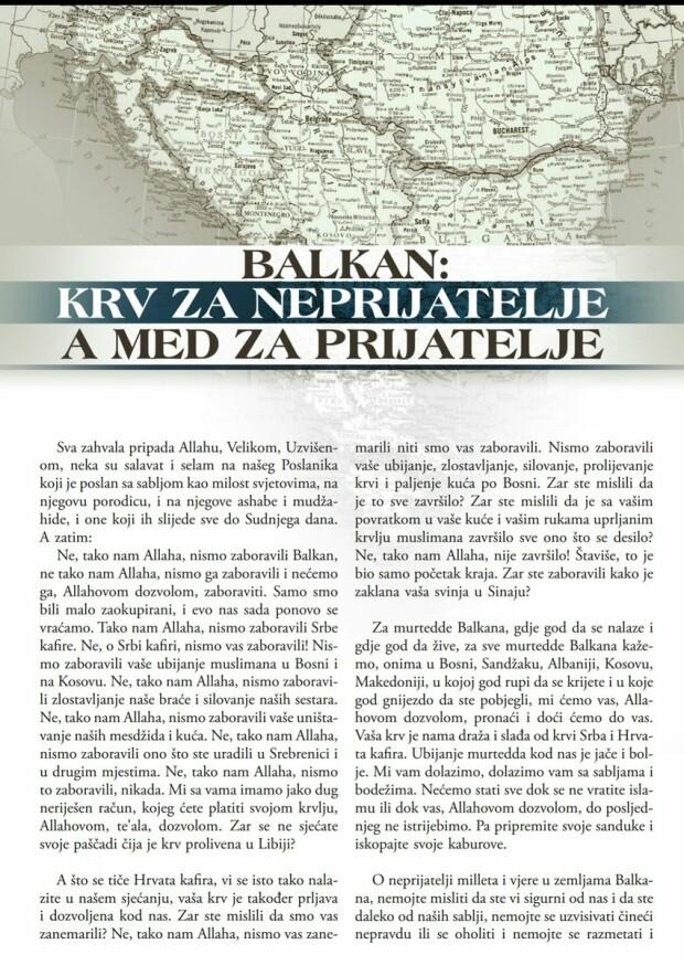 pagina din revista Rumyiah a ISIS
