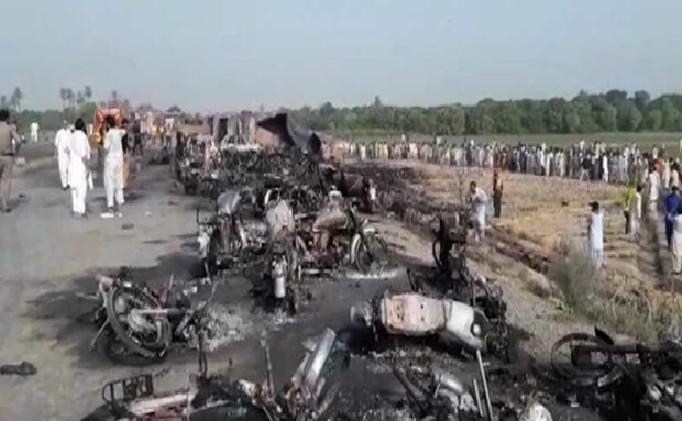 incendiu Pakistan