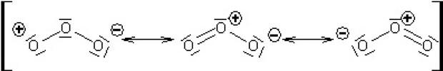 Formula chimica a ozonului