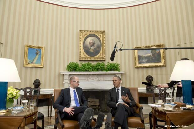 Arseni Iateniuk si Barack Obama