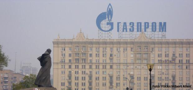 Gazprom cladire Moscova
