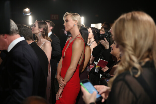 Charlize Theron culise Oscar