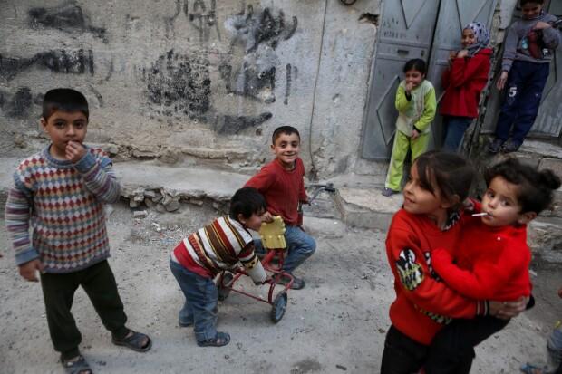 copiii in Siria - Agerpres
