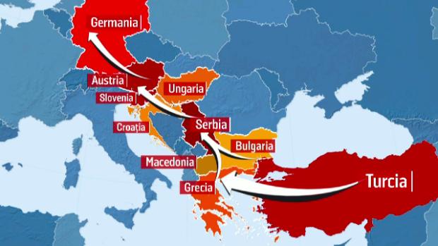 ruta balcanica
