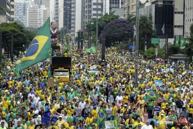 Proteste Brazilia