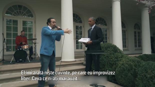 Obama si Lin-Manuel
