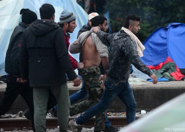 migranti Idomeni