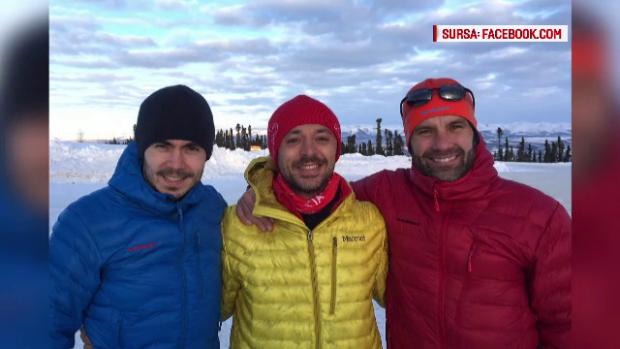 Andrei Rosu, maratonist Polul Nord