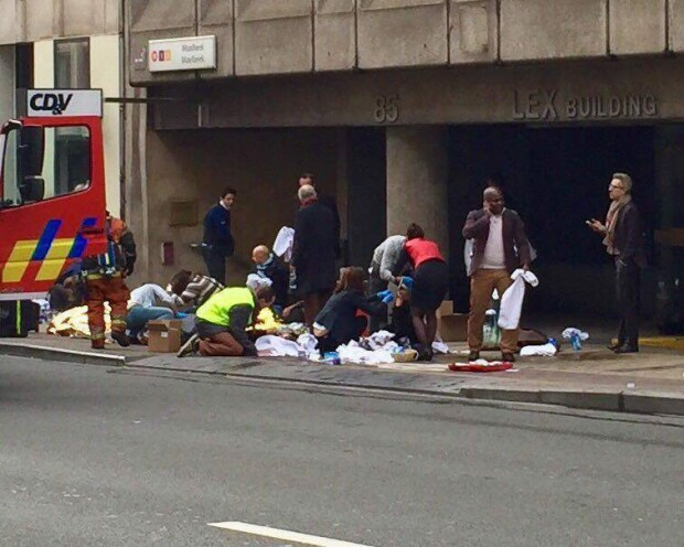 bomba metrou Bruxelles