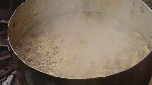 pastravi in ceaun