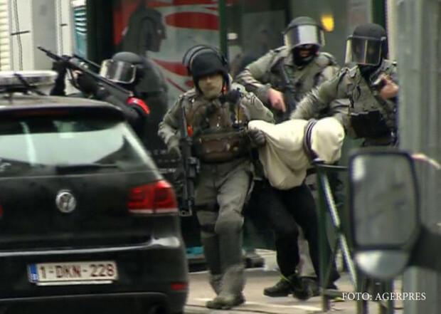 raid al politiei belgiene in Molenbeek