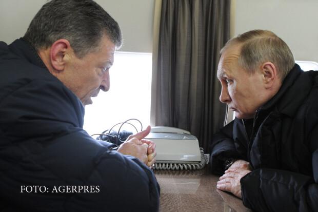Dmitri Kozak si Vladimir Putin