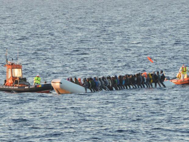 operatiune de salavare a refugiatilor in Mediterana - Politia de Frontiera