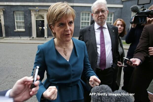 Nicola Sturgeon, premierul Scotiei