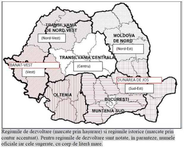 regionalizarea romaniei - 2
