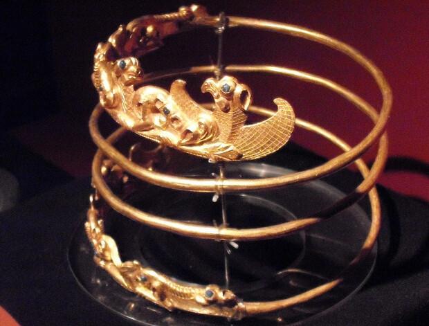 Problema aurului sciţilor ajuns la un muzeu din Olanda