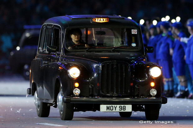 taxi in Londra