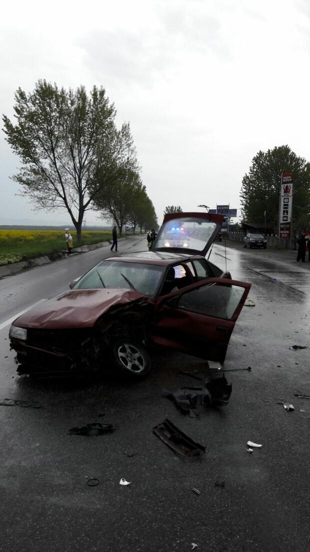 accident E 85 Terceanu