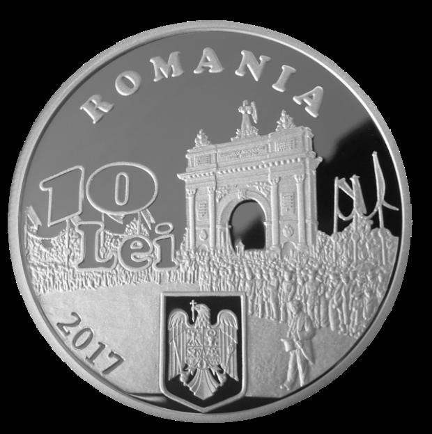 Moneda 140 de ani de la proclamarea Independentei de stat a Romaniei