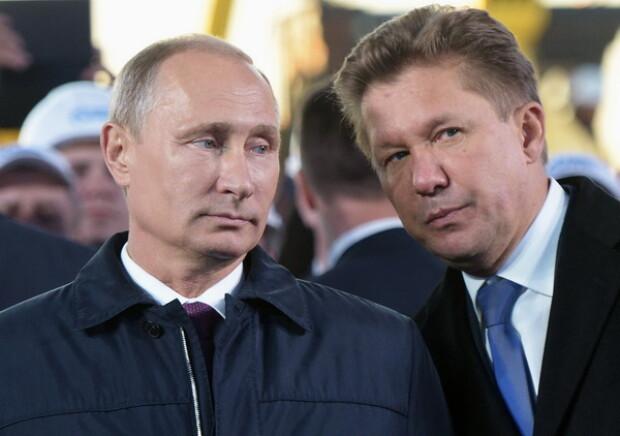 Putin si Miller