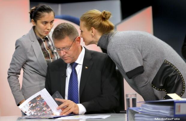 Klaus Iohannis, Victor Ponta - 1