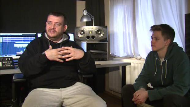 Elekes Levente Levi cu Tataee de la BUG Mafia