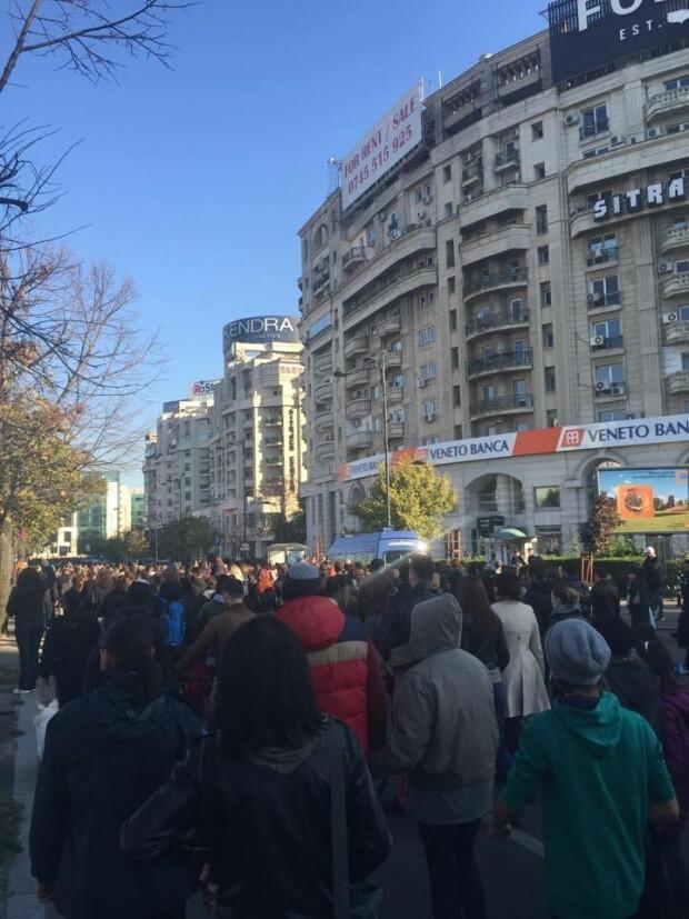 marsul tacerii, Capitala - 3