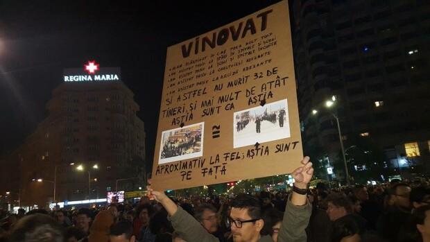 proteste, Piata Victoriei