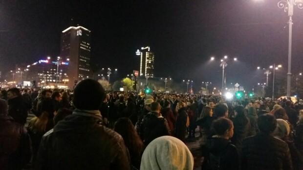 Protest, Piata Victoriei