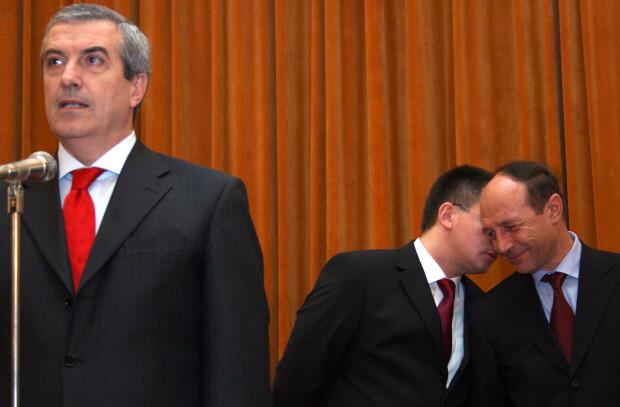 Tariceanu Ungureanu Basescu