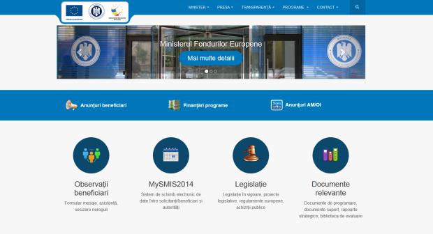 site fonduri europene