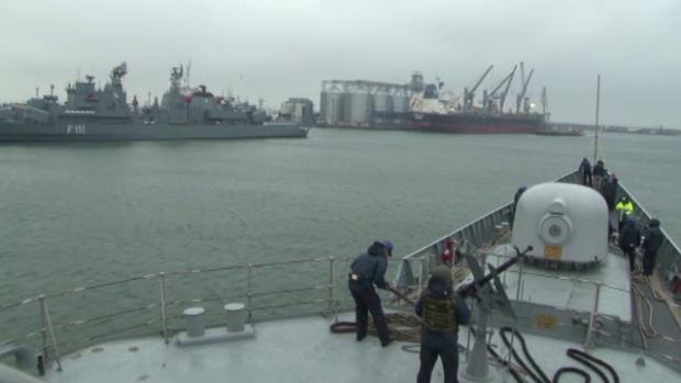 exercitiu militar Marea Neagra - stiri