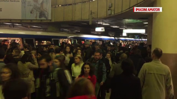 aglomeratie metrou
