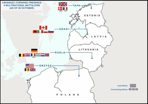 batalionale multinationale NATO