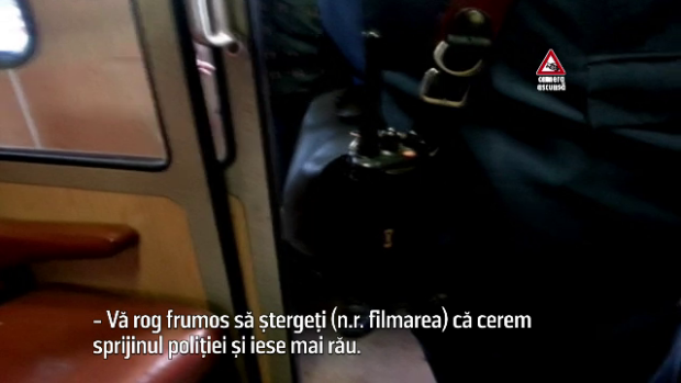conditiile din tren