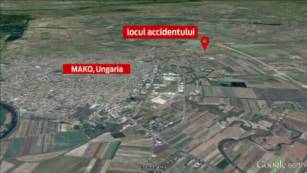 loc accident Ungaria