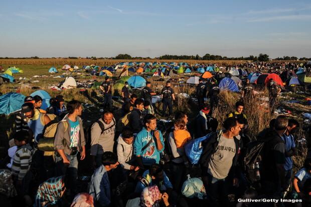 Refugiati sirieni - GETTY