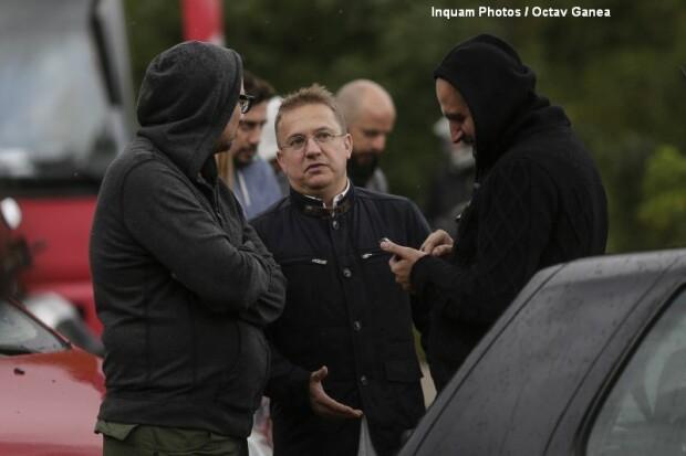 Protest Gabriel Oprea