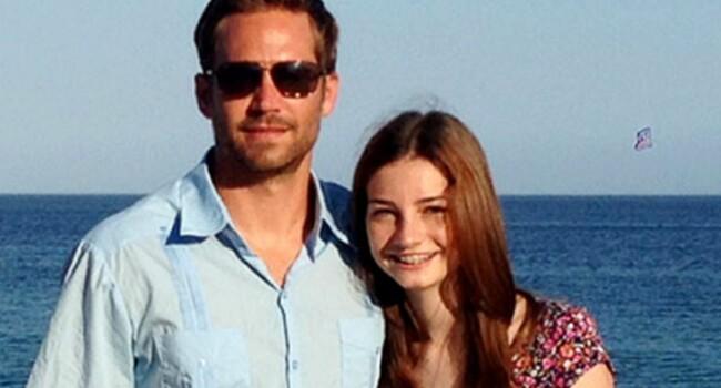 Fiica lui Paul Walker a primit 10 milioane de dolari in urma mortii celebrului actor