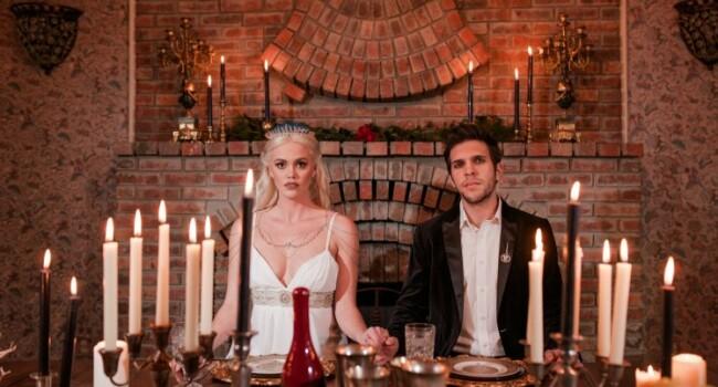 Si-au facut nunta ca in Game of Thrones! Cum a aratat rochia miresei