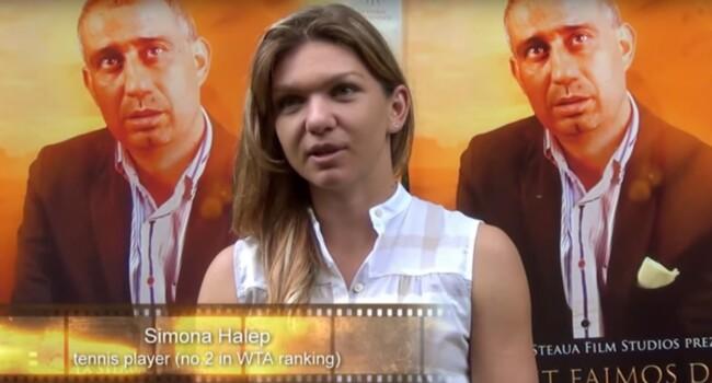 Nu sunt faimos, dar sunt aroman. Prima inregistrare cu Simona Halep vorbind in machedoneste